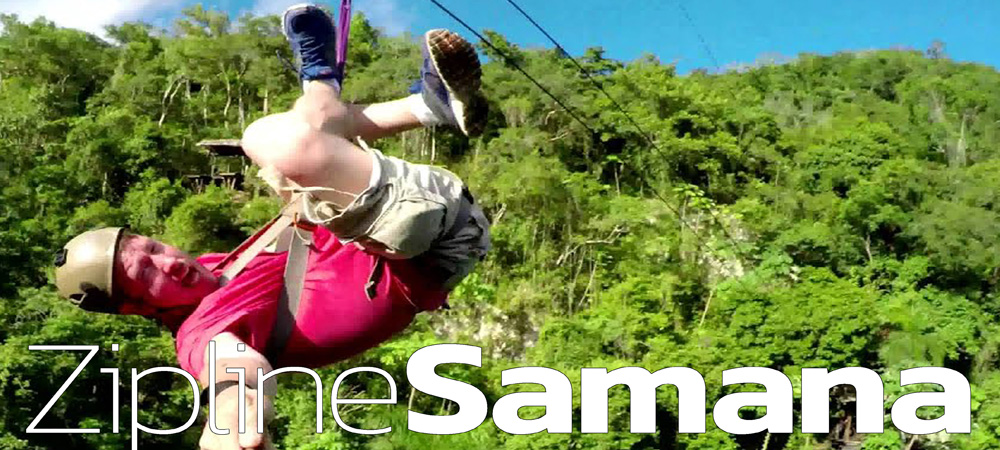 Best Zipline Excursion from Las Terrenas Samana Dominican Republic.